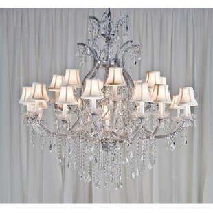 House of Hampton Keenum 24-Light Shaded Chandelier