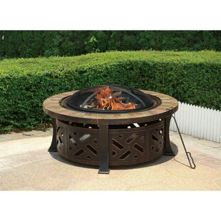 Jeco Inc. Ornate Steel Fire Pit