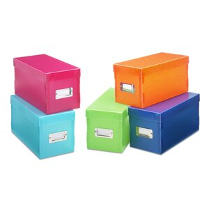 Plastic Storage Box (Set of 5)