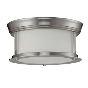 Three Posts Stonehedge 2-Light Flush Mount
