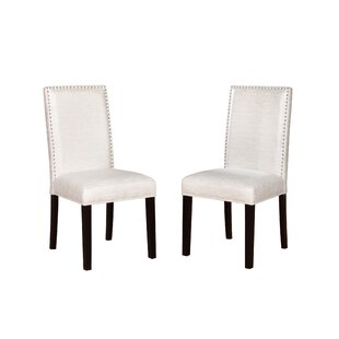Andover Mills Dubuque Parsons Chair (Set of 2)
