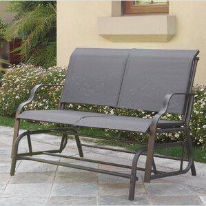 Carey Outdoor Glider Bench