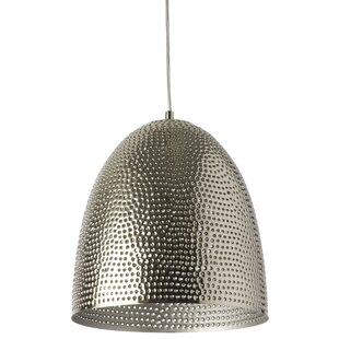 Bloomsbury Market Francille 1-Light LED Bell Pendant