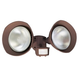 Coleman Cable Flood Light with Motion Sensor