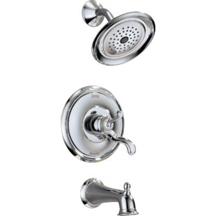Delta Vessona Tub and Shower Faucet with Valve, Trim and Monitor