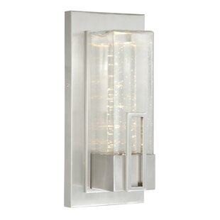 Orren Ellis Penick 1-Light Outdoor Flush Mount
