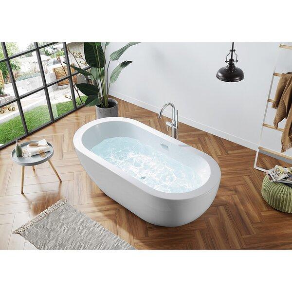 Boyce Acrylic Freestanding Tub Wayfair Ca
