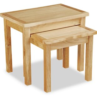 Deyo 2 Piece Nest Of Tables By Natur Pur