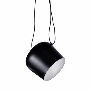 Atharva 1-Light Bell Pendant by Wade Logan