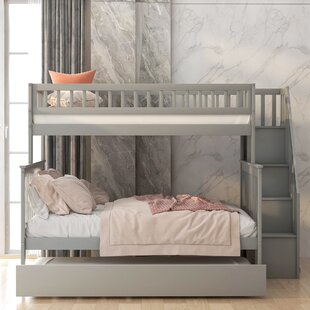 Meansville Twin over Full Bunk Bed with Trundle