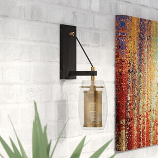 Depp 1-Light Armed Sconce by Mercury Row