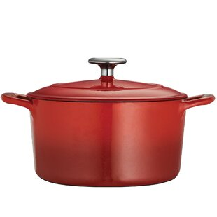 Gourmet Enameled 6.5 Qt. Cast Iron Round Dutch Oven By Tramontina