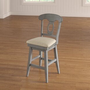 Reviews Colasanto 25.78 Swivel Bar Stool by August Grove Reviews (2019) & Buyer's Guide