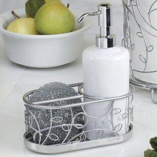Augustine Soap Dispenser Pump And Sponge Caddy