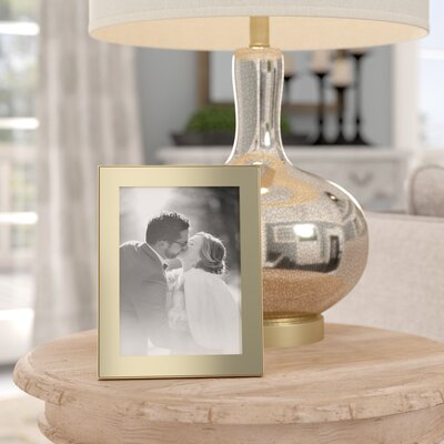 Birch Lane™ Heritage Jonna Brass Frame Picture Size: 5x7