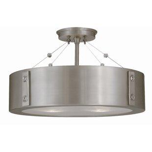 Framburg Oracle 4-Light Semi Flush Mount