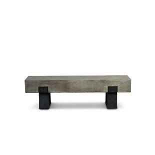 Laurinda Industrial Metal Kitchen Bench