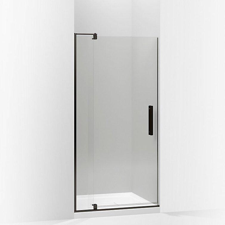 K-707531-L-ABZ,BNK,SHP Kohler Revel 35.8\'\' x 70\'\' Pivot Shower Door ...
