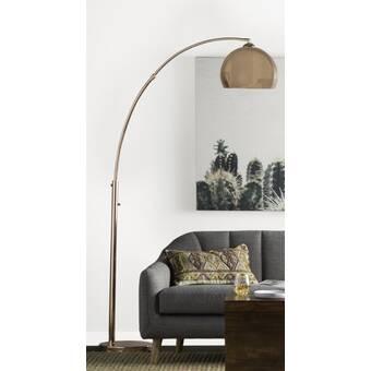 Super Mistana Talkington 80 Led Arched Floor Lamp Reviews Wayfair Download Free Architecture Designs Jebrpmadebymaigaardcom