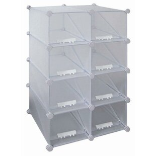 Purchase 8-Compartment 16 Pair Shoe Rack By New Spec Inc