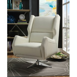 Boerger Swivel Wingback Chair