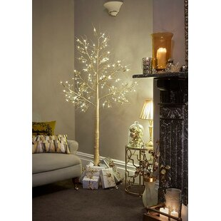 64 Warm White Champagne Jewelled Twig Lighted Trees & Branches By The Seasonal Aisle