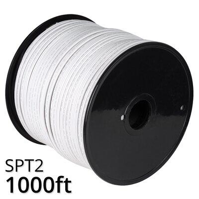 1000 Bulk Wire Wintergreen Lighting Color White