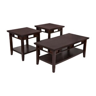 Daxton 3 Piece Coffee Table Set (Set of 3)