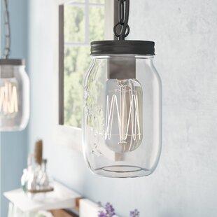 Rosemount 1-Light Jar Pend..