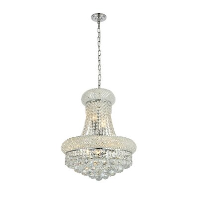 Roesler 5 Light Shaded Drum Chandelier