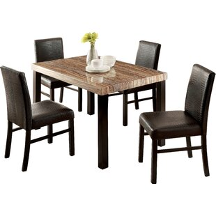 Baylor 5 Piece Dining Set by Hokku Designs Best Design