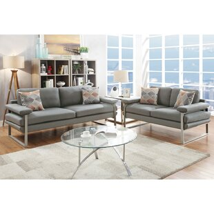 Kraker 2 Piece Living Room Set by Orren Ellis
