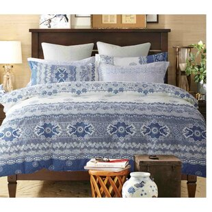 Tanguay 100% Cotton 3 Piece Comforter Set by Red Barrel Studio
