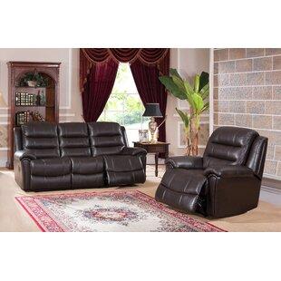 Lorretta 2 Piece Reclining Living Room Set