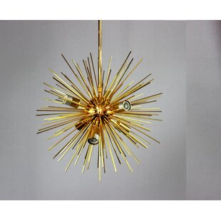 Mercer41 Knowsley Urchin 6-Light Chandelier