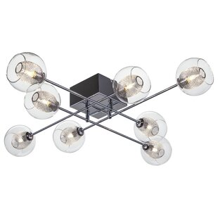 Brayden Studio Lough 8-Light Semi Flush Mount