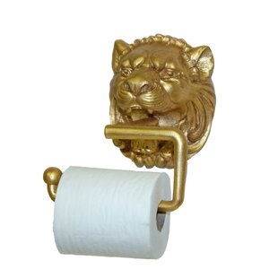 24k gold toilet paper. Lion Wall Mount Toilet Paper Holder Gold Holders You ll Love
