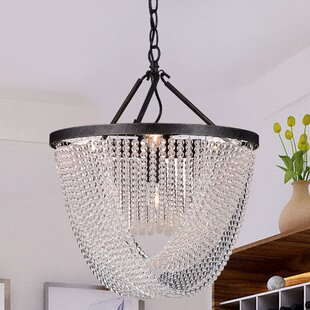 Gracie Oaks West Drive 6-Light Crystal Chandelier