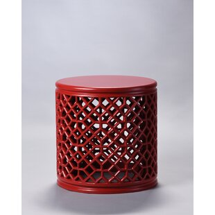 Bohemian Red Wood End Tables You Ll Love In 2020 Wayfair
