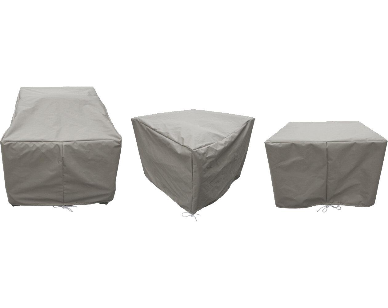 Sol 72 Outdoor Waterbury 7 Piece Water Resistant Patio Furniture Cover Set Reviews Wayfair