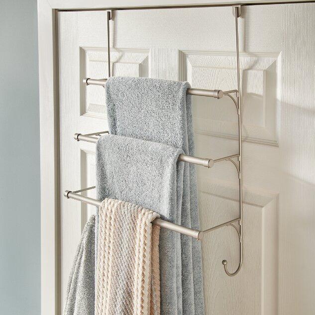 Wonderful Over The Door Towel Rack