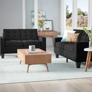 Purchase Bateson 2 Piece Living Room Set by Ebern Designs Reviews (2019) & Buyer's Guide