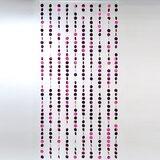 Spangles PVC Circles Beaded Curtain