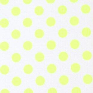 Price comparison Neon Polka Dots Portable Mini Fitted Crib Sheet BySheetworld