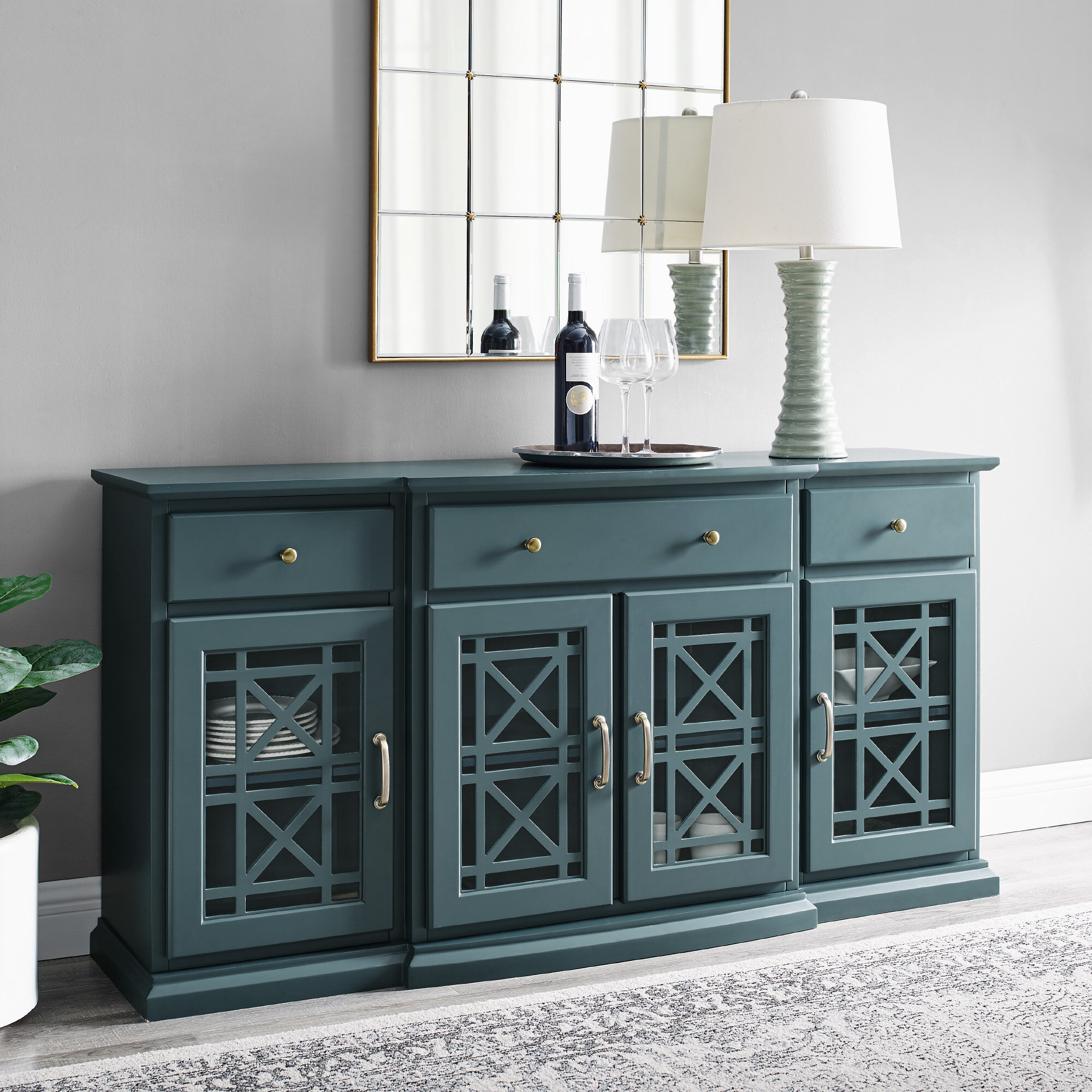 Blue Sideboards Buffets You Ll Love In 2020 Wayfair