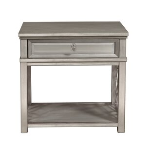 Maci 1 Drawer Nightstand by Rosdorf Park