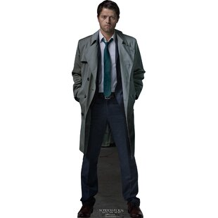 Castiel - Supernatural Cardboard Standup By Advanced Graphics
