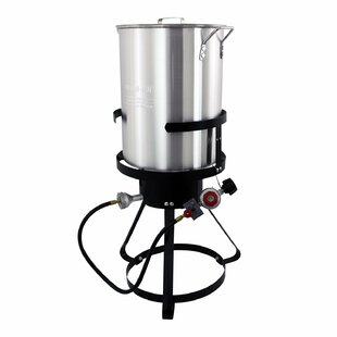 30-Quart Aluminum 1-Burner Propane Turkey Fryer