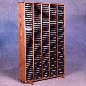 400 Series 400 CD Multimedia Storage Rack by Wood Shed