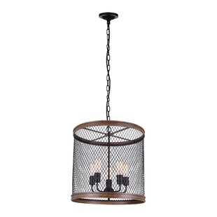 CWI Lighting Torres 5-Light LED Chandelier